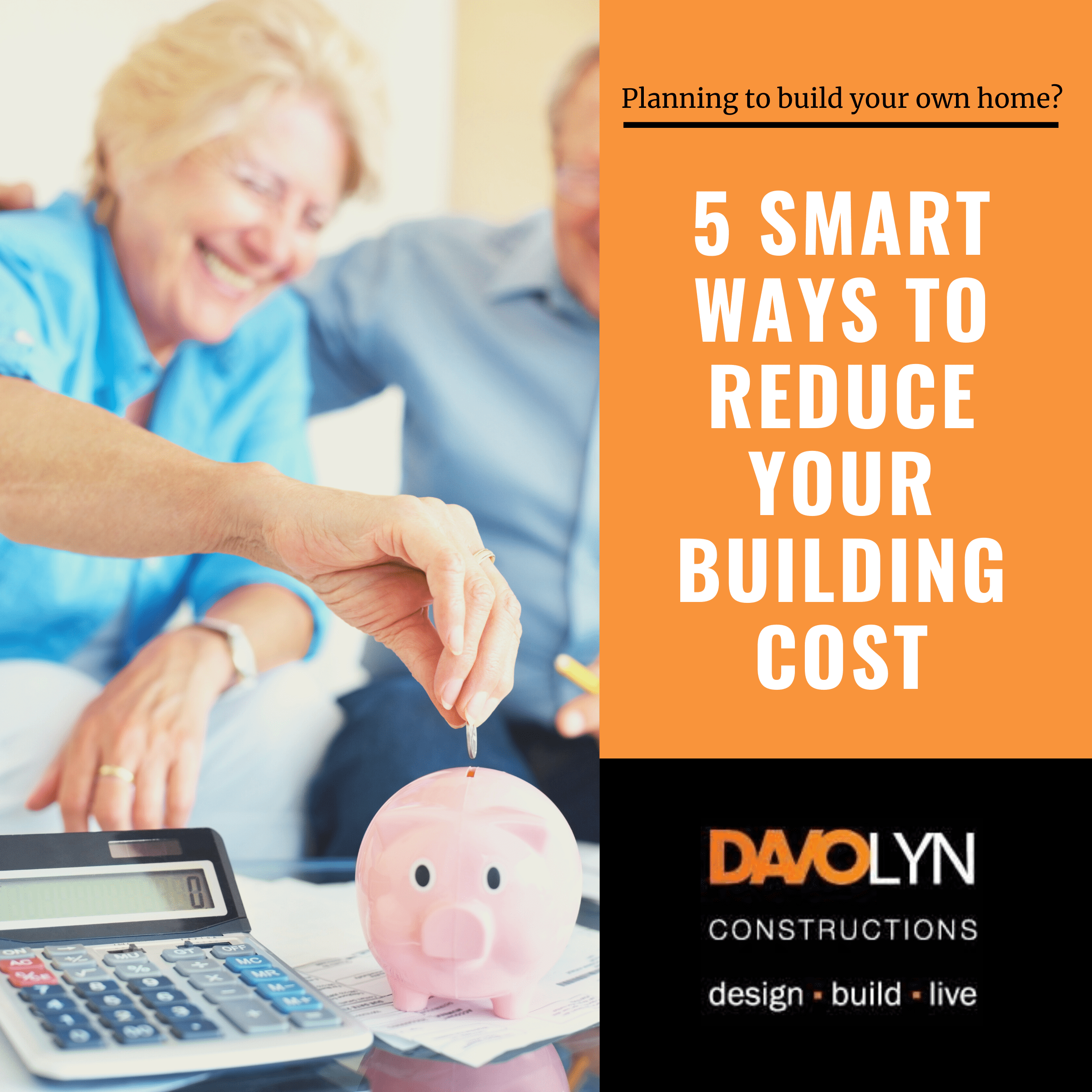 5 Smart Ways to Reduce Your Building Cost