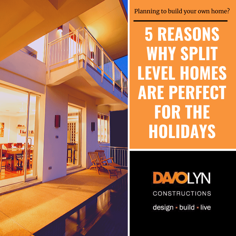 5 Reasons Why Split Level Homes are Perfect for the Holidays