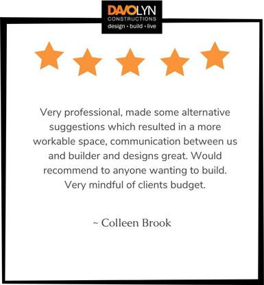 Testimonial - Colleen Brook