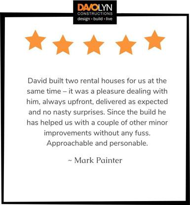 Testimonial - Mark Painter