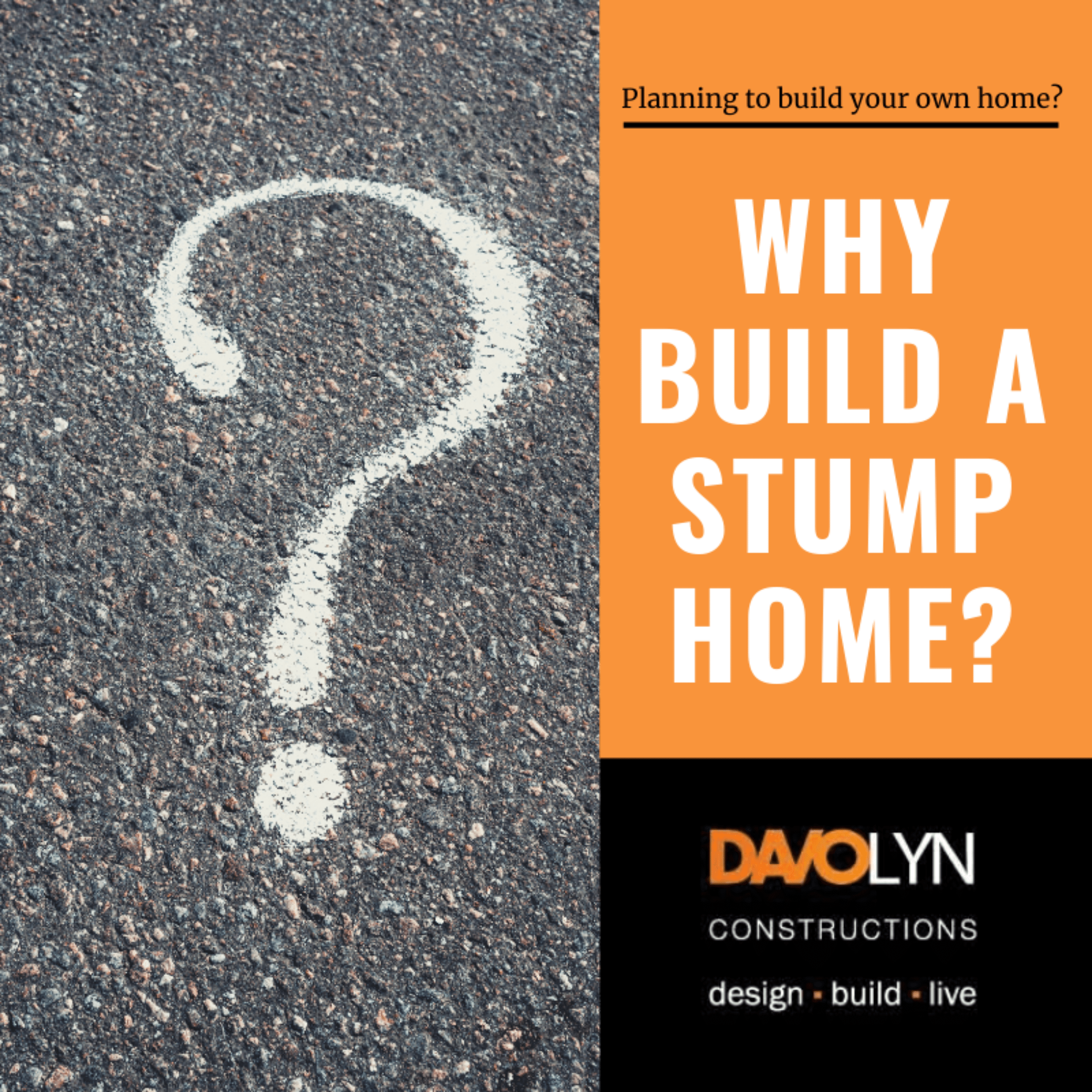 Why Build a Stump Home?